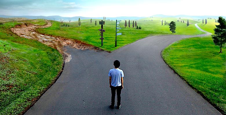 A escolha do caminho errado - Lucas Xavier