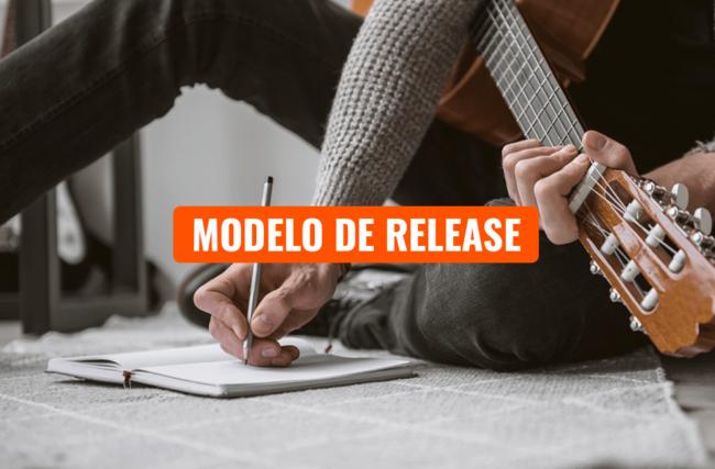 Modelo de Release para Cantores e Bandas 100% Grátis
