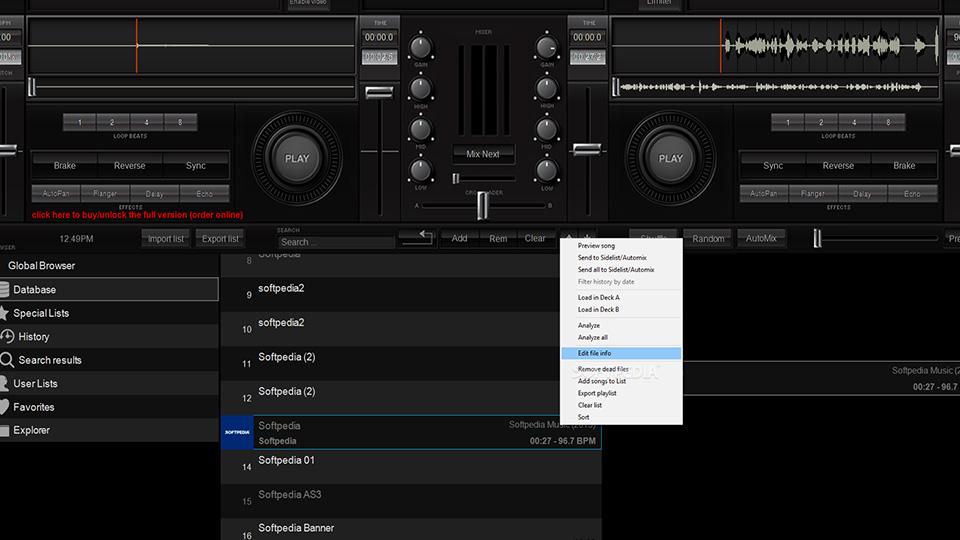 Programas de DJ - Mix Express