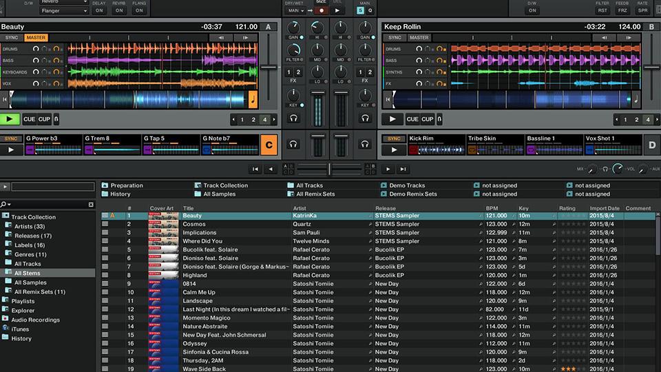 Programas de DJ - Traktor Pro