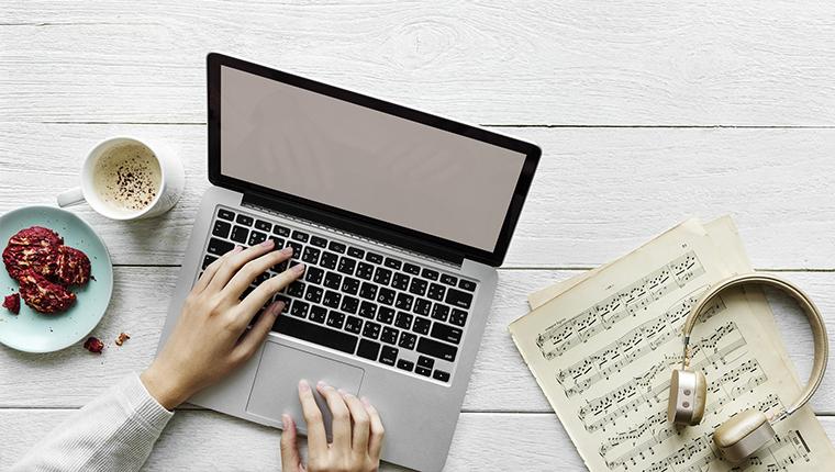 Registrando Música na Internet