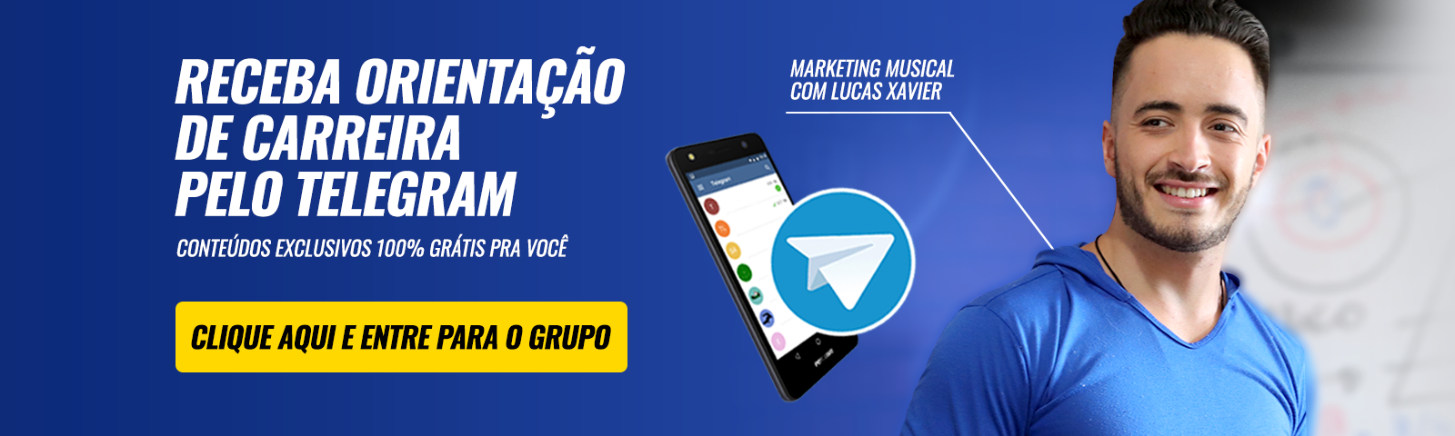 Marketing Musical com Lucas Xavier